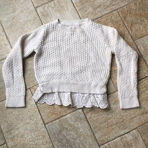 Gap toddler girls cream sweater
